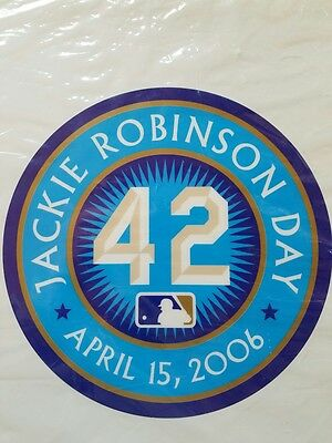 Jackie Robinson Day Commemorative Home Plate, April 15, 2006 MLB Authentic
