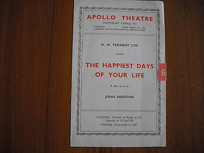Apollo Theatre, London - The Happiest Days Of Your Life - Margaret Rutherford