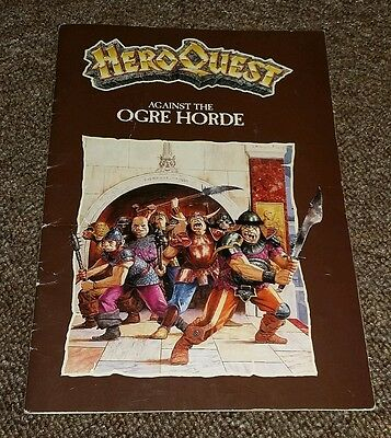 Hero Quest Against the Ogre Horde Expansion