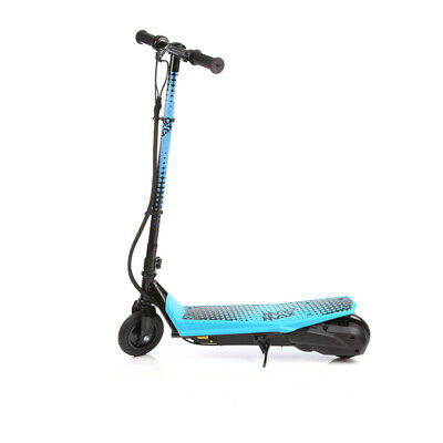 Kids Electric Scooter Motor toy Ride Electrical 140w 12v Bike Blue