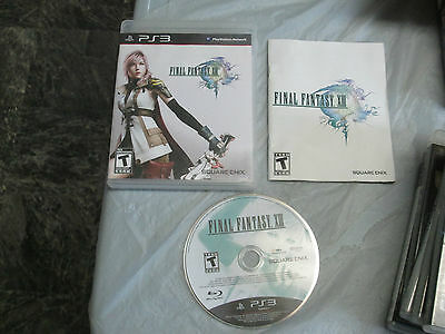 Final Fantasy XIII (PlayStation 3, PS3) complete