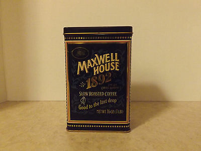 Maxwell House 1892 Tin.
