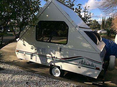Chalet Alpine Folding RV Trailer