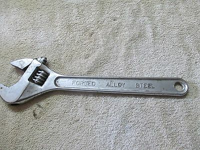 """12"""" Crescent type Wrench,Opens to 1 3/8"""" Chinese made ajustable wrench/tool"""