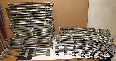 Vintage Lot of Standard Train Track Lionel and MTH 48 Pieces