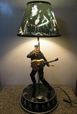 """New ""Elvis Animated Lamp in its Original Box"