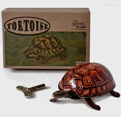 Walking Tortoise Tin Toy Timeless Reproduction Of 1930 Great Gift Item