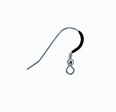 French Wire Earring Hooks | French Wire Earring Findings Long Hooks Pure 925 Sterling Silver