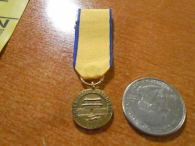 Vintage United States Navy China Relief Expedition Mini Medal Bar Back B