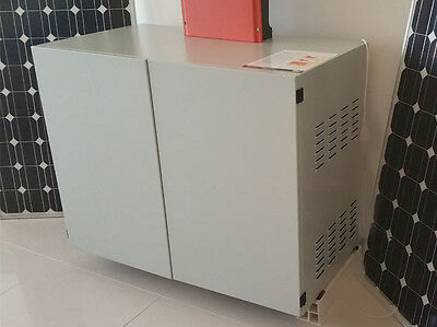 Solar Battery Storage Cabinet Gel Deep Cycle Battery Power Bank Ups Off Grid