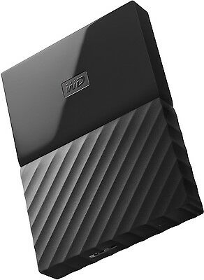 WD My Passport 2TB Black Portable HDD[WDBYFT0020BBK]