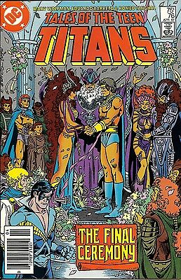 Tales of the Teen Titans #76 April 1987 DC Comics Great Shape