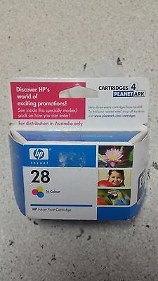 Genuine HP No 28, C8728A  Colour Ink Cartridge New, See Photos