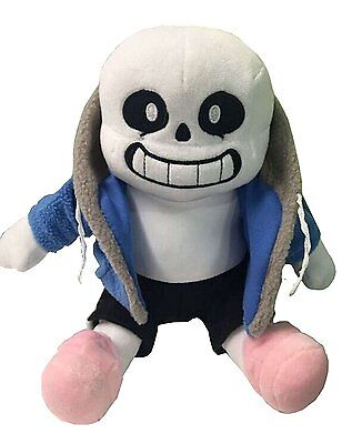 """Undertale Sans Plush Stuffed Doll 12""""Toy Pillow Hugger Cushion Cosplay Toy Gift"""