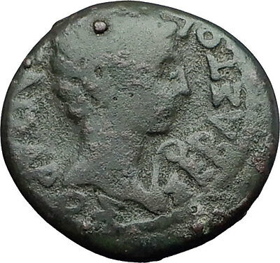 AUGUSTUS 27BC Dioshieron in Lydia ZEUS Authentic Ancient Roman Coin RARE i59612
