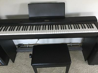 Casio Privia PX-330 EXCELLENT QUALITY USED + STAND + ACCESSORIES