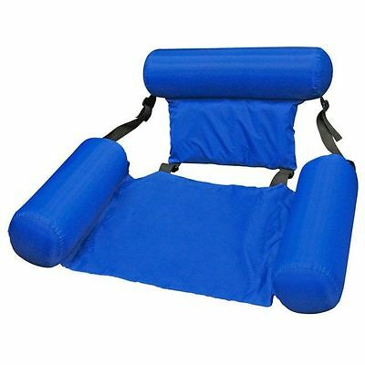 Aquafun Water Chair, Pool lounge, Inflatable, Nylon Fabric, Float Adult Pool Toy