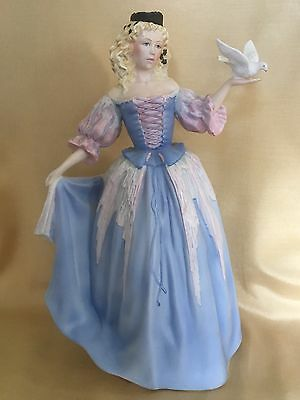 Franklin Mint figurine the House of Faberge Princess of The Ice Palace