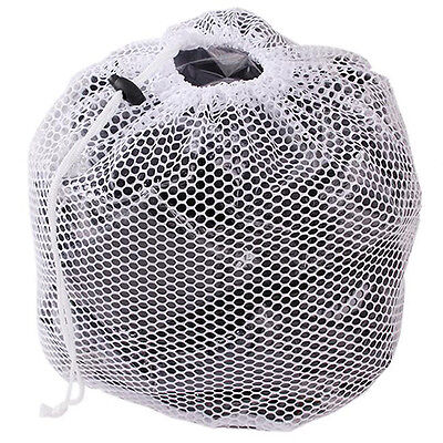 Drawstring Net Laundry Saver Mesh Wash Washing Machine Net Bag Thicken Sweet