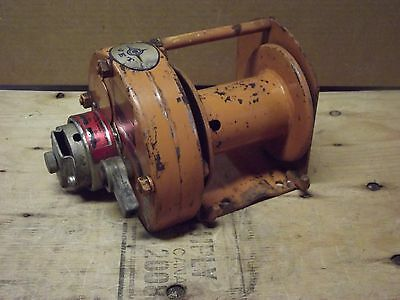JET Heavy Duty Manual Hand Crank Winch DW2500 / 2500kgs / 5500lbs