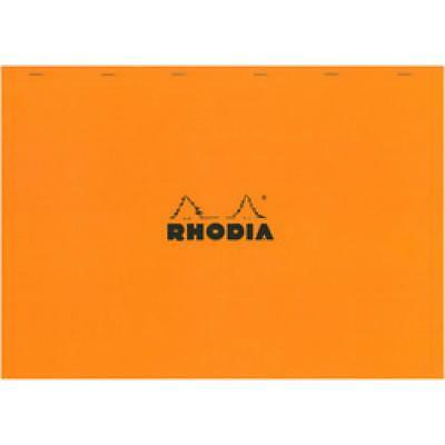 RHODIA Notizblock No. 38, DIN A3+, kariert, orange (38200C) (3037920382005)