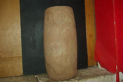los millares culture bird face altar