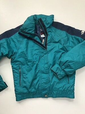 The North Face Boy Extreme Size 10 Gore-tex Green Winter jacket