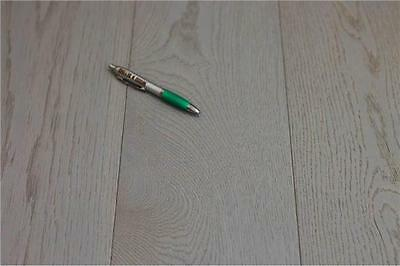 Solid Oak Wood Flooring - London Grey - Lacquered - 18mm x 125mm - REDUCED