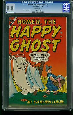 Homer the Happy Ghost #1 -CGC Graded 8.0- DeCarlo- Highest graded- 1173075006