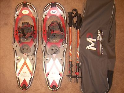 Yukon Charlie Mountain profile 930 snowshoe kit