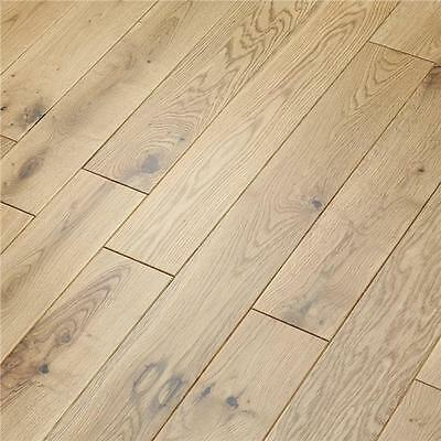 Solid Oak Wood Flooring - Natural Lacquered - 18mm x 110mm