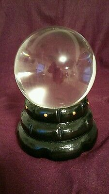 crystal ball wicca alter scrying ball fortune teller