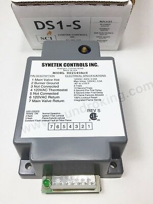 Ds1-S Synetek  Ignition Box 110V Replaces M406789 / Gem-789
