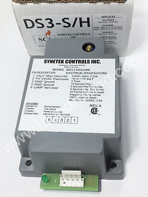 Ds3-S/h Synetek Ignition Box 24V Replaces M413532 / 70367301P / Gem-532