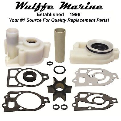 Water Pump Impeller Kit & Housing for pre-Alpha Mercruiser Drive '70-84 18-3317