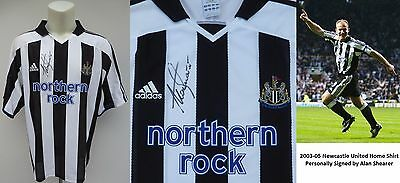 2003-05 Newcastle United Home Shirt Signed by Alan Shearer (10148)