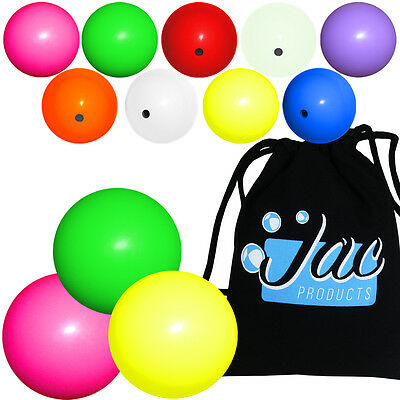 Set of 3 Jac Products 68mm DX Chroma Juggling Balls