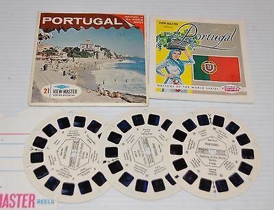 - PORTUGAL VIEW-MASTER Reels B-168 with Packet & Booklet -