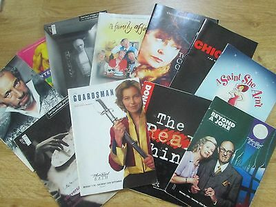 Selection of Theatre Programmes from the 2000's,