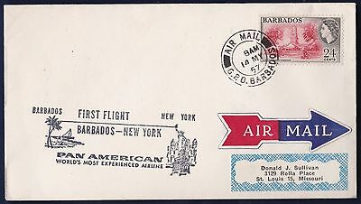 Ffc Pan American Barbados To New York (K25)