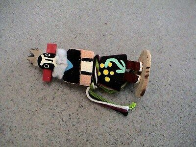 Auth.Native American Indian Mini Zuni Girl Kachina by Colleen Parker