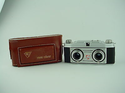 TDC Stereo COLORIST 3D Stereo Camera With Case - Works Great
