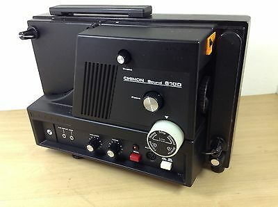 Chinon 6100 Super 8 8Mm Sound Retro Cine Film Movie Projector Boxed
