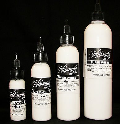 Inksanity Super White Tattoo Ink Made In USA Tattoo Supply Not Eternal