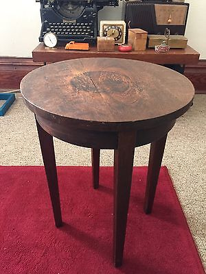 Antique Vintage Mid Century Modern Wood Plant Stand/ Stool/ Nice!/ Stickley?