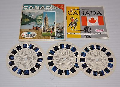 - CANADA VIEW-MASTER Reels A-090 with Packet and booklet -