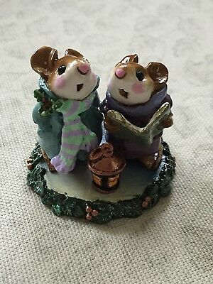 Wee Forest Folk - WFF Silent Night Special Color Base Retired