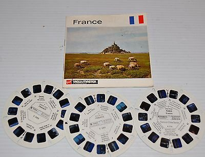 - FRANCE Gaf VIEW-MASTER Reels C-2302 with Packet and booklet -