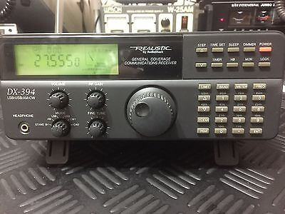 Realistic DX-394 General Coverage Communications Receiver. Ham Radio Scanner