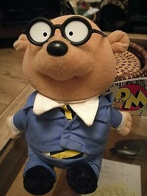 Penfold from Danger Mouse Soft Toy